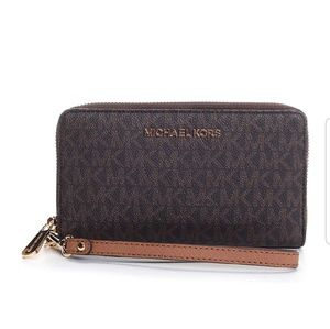 """Michael Kors"" Jet Set Travel Wallet"